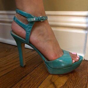 Via Spiga blue high heels